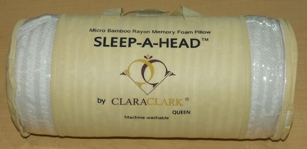 Clara clark bamboo pillow