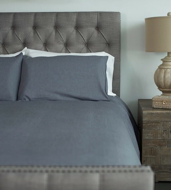 Blue Lagoon Bamboo Duvet Cover by Cariloha
